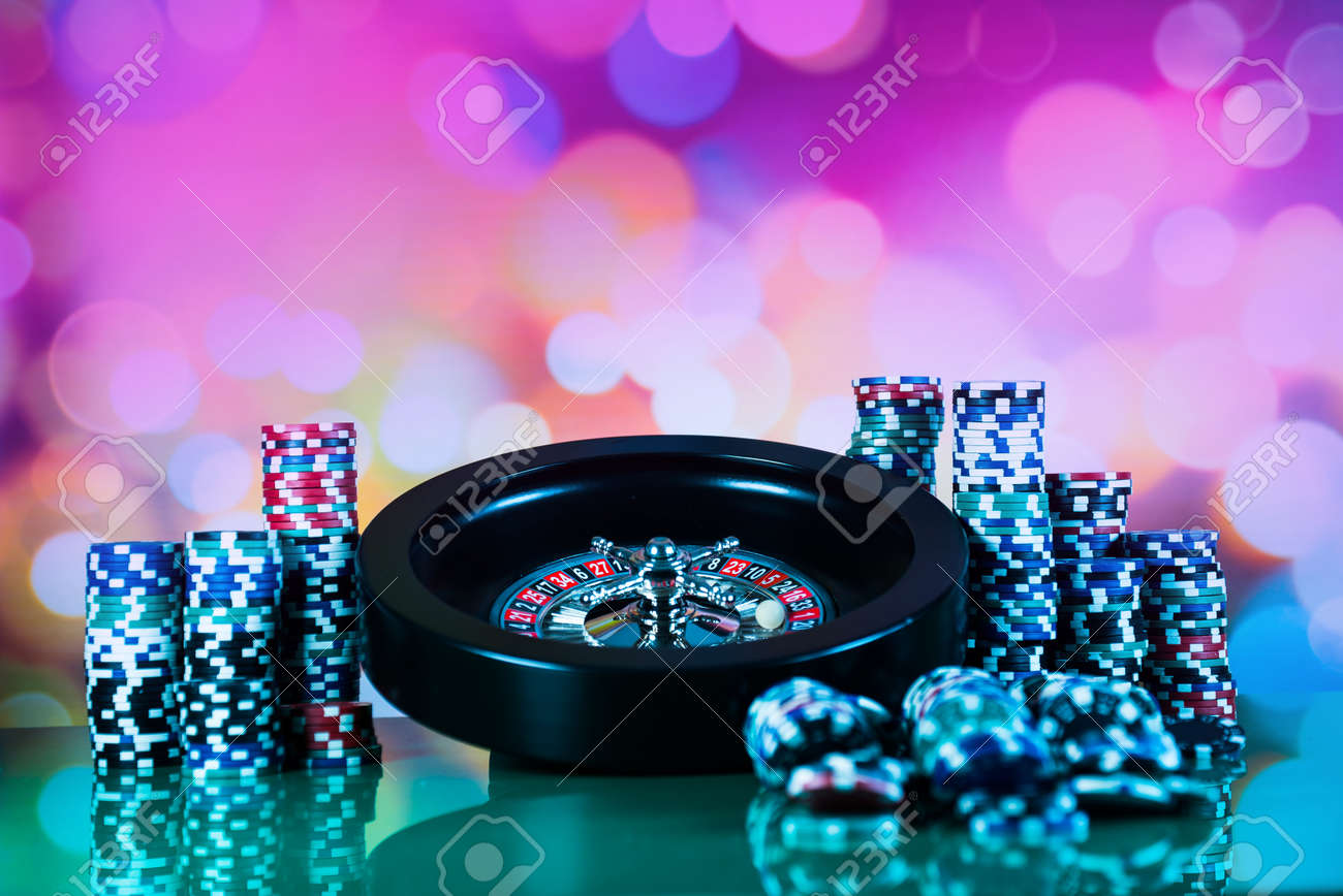 Casino Background Image Stock Photo, Picture And Royalty Free Image. Image  95646032.