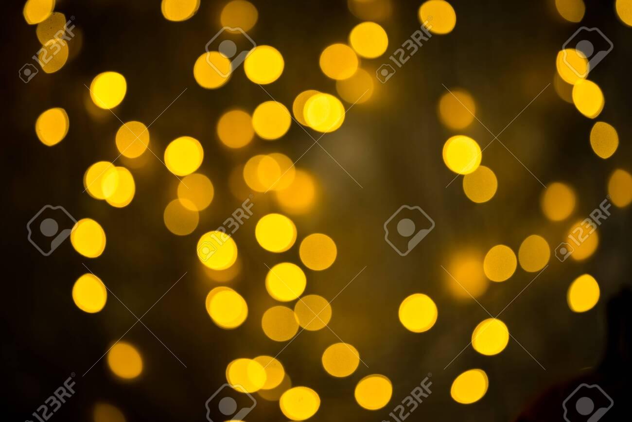 golden bokeh background - 153628396