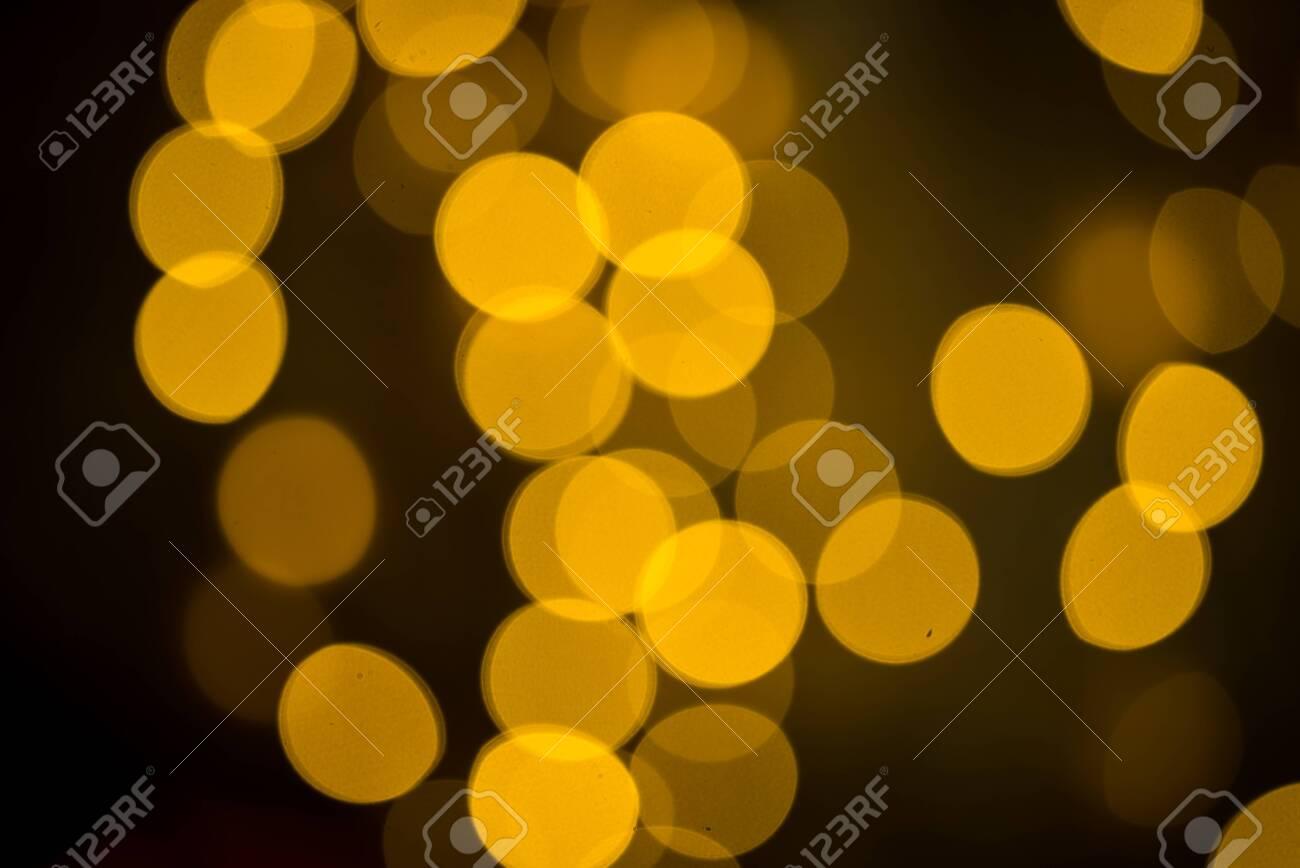 golden bokeh background - 153628021