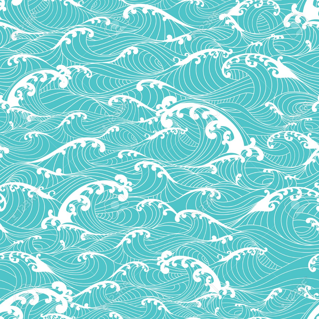 Ocean Wave Pattern Magnificent Ideas