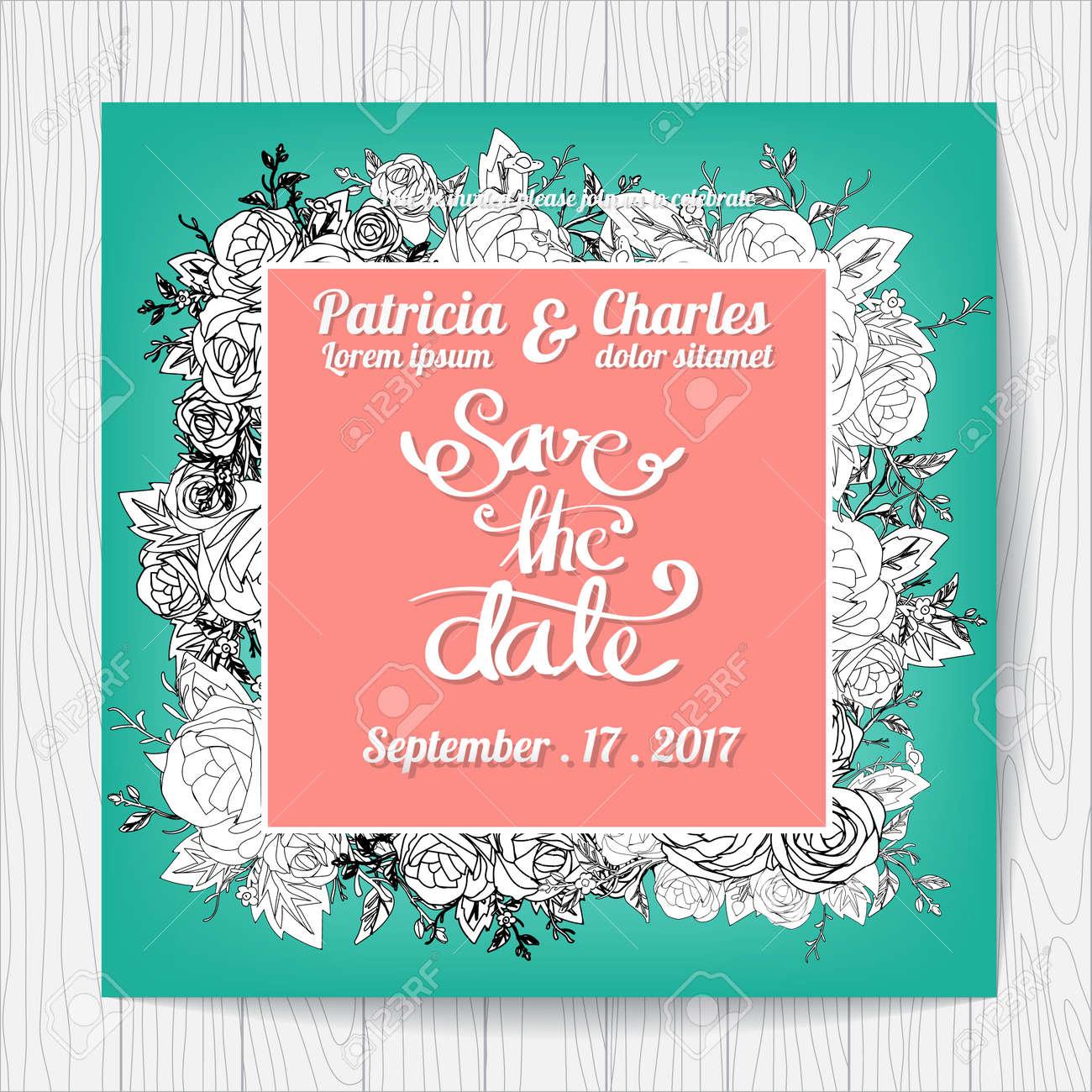 Wedding invitation card templates royalty free cliparts vetores e imagens wedding invitation card templates stopboris Gallery