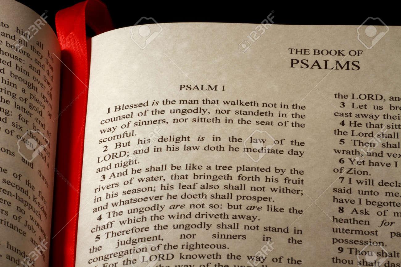 Capítulo 1 Del Libro De Los Salmos En El Antiguo Testamento De La