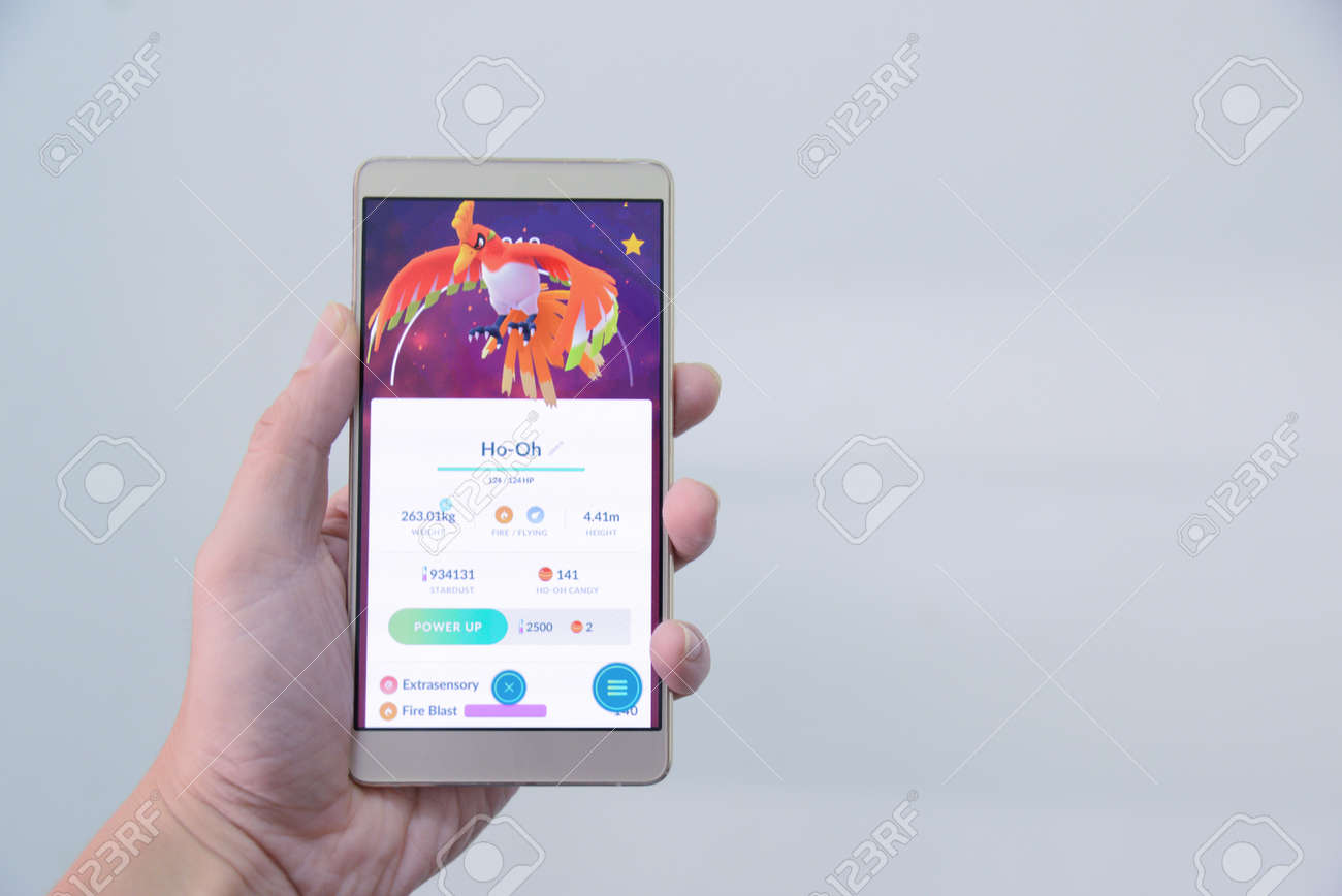 pokemon go event ho-oh raid boss catched by pokemon trainer in