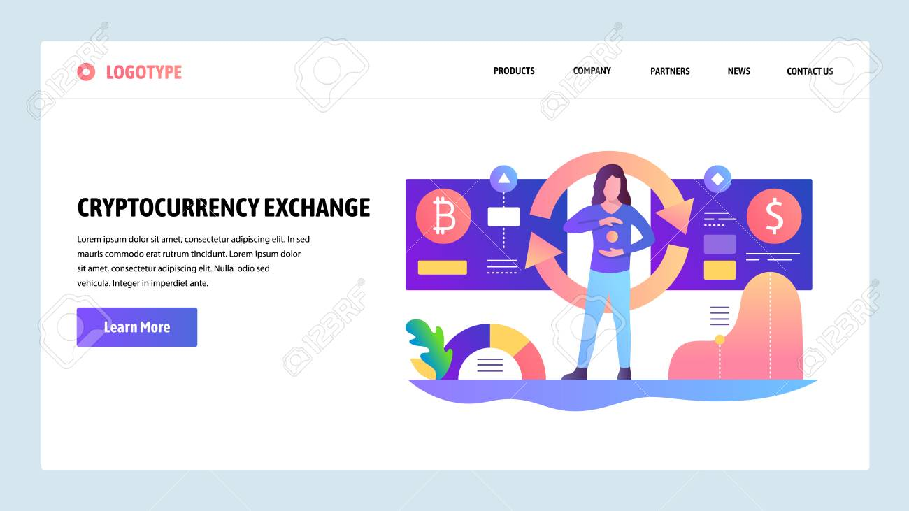 cryptocurrency exchange website template