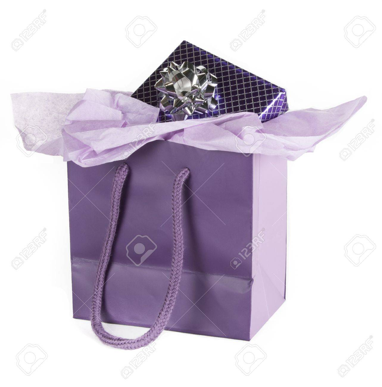 skate shoes great quality special section Present wrapped in purple paper in purple gift bag