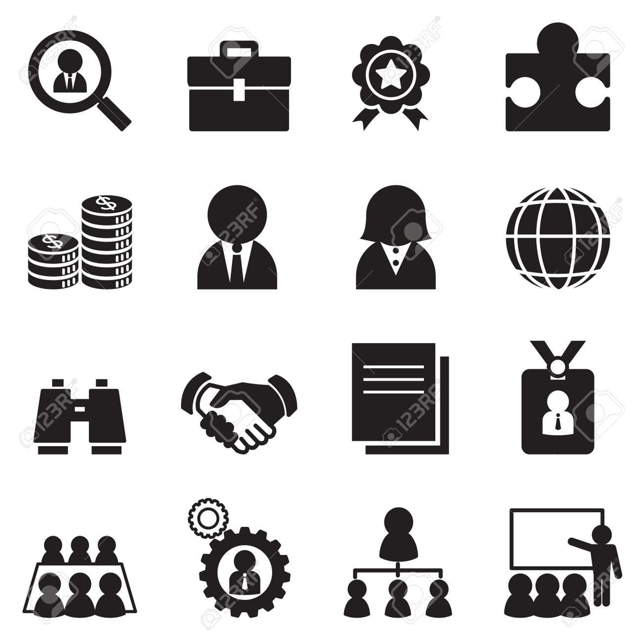 Job icon Set - 52041590
