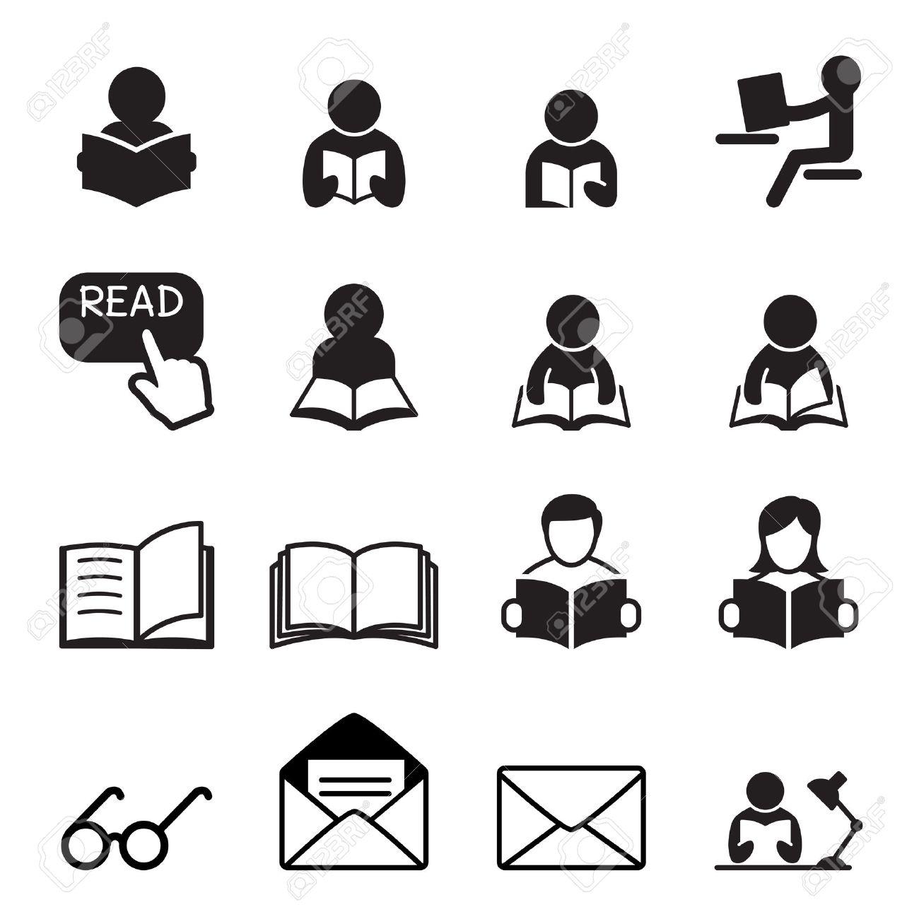 Reading icon - 52042619
