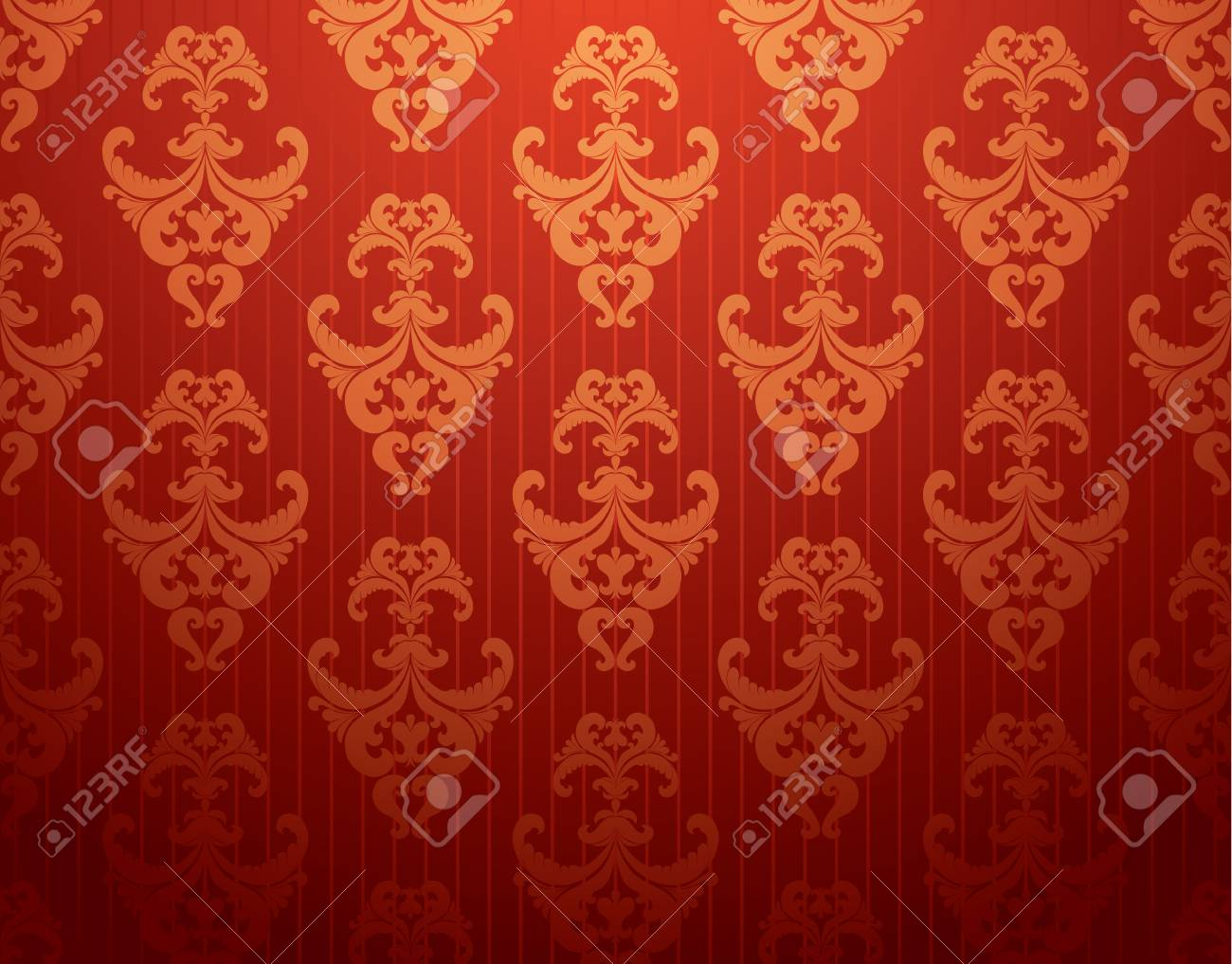 retro floral background Stock Vector - 6602760