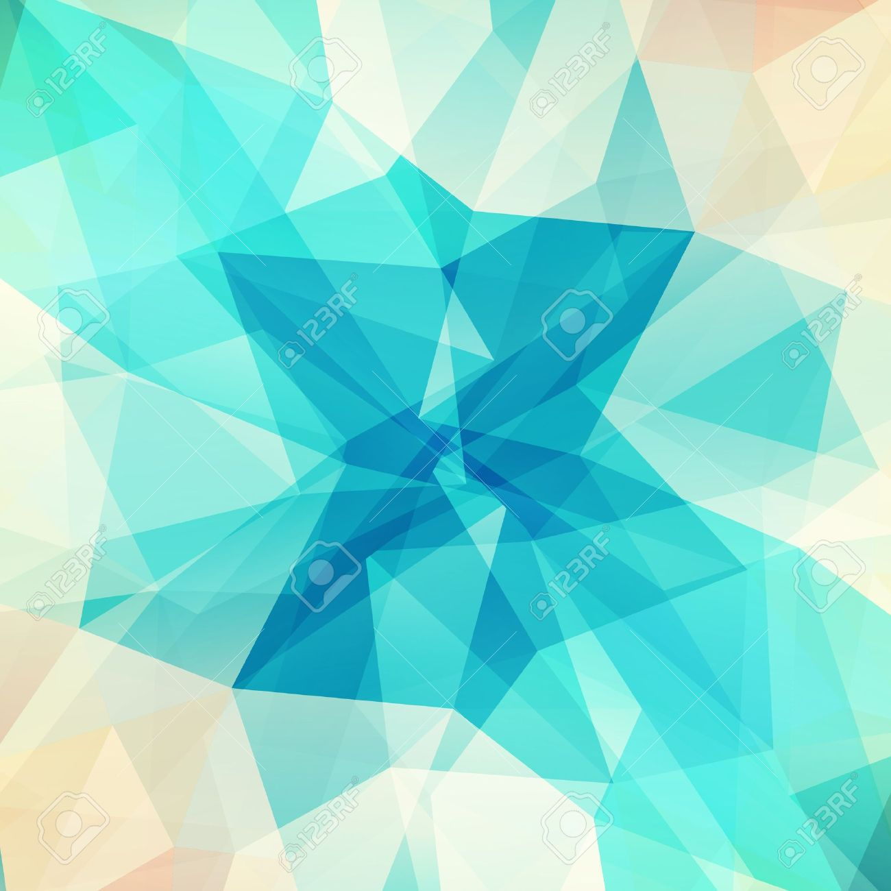 Abstract geometric background with triangular polygons Stock Vector - 18705946