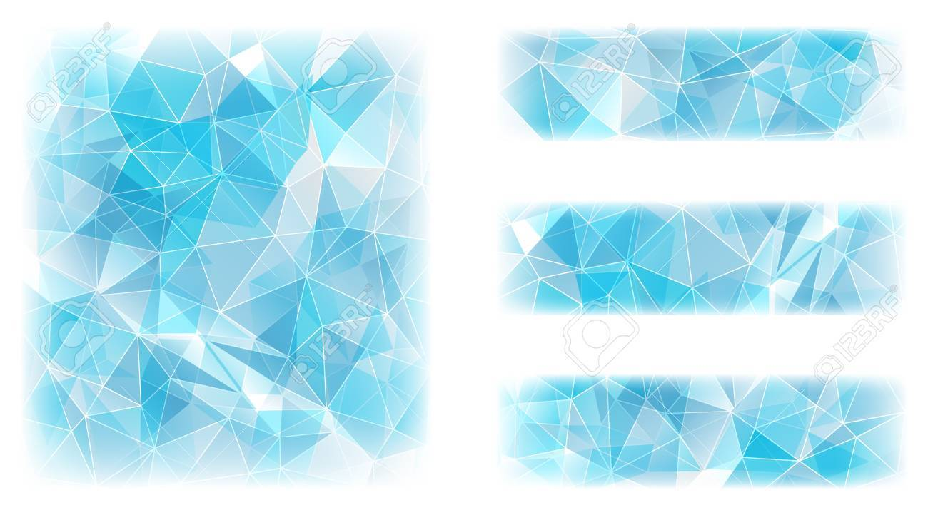 Abstract geometric background with triangular polygons. Stock Vector - 20671524