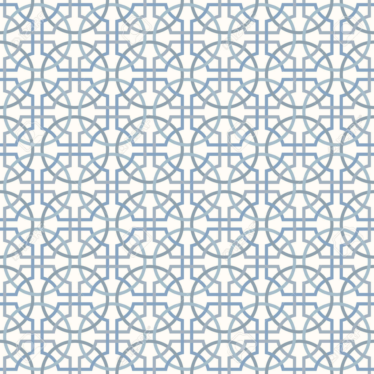 Tangled Modern Pattern, Based On Traditional Oriental Arabic ... for Modern Arabic Pattern Vector  66pct