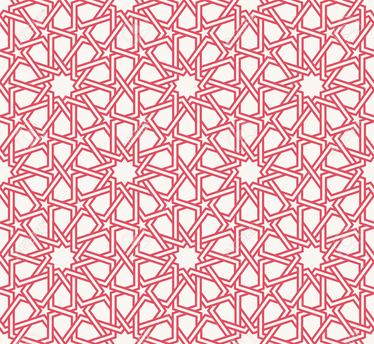 Entwined Modern Pattern, Based On Traditional Oriental Arabic ... for Modern Arabic Pattern Vector  53kxo