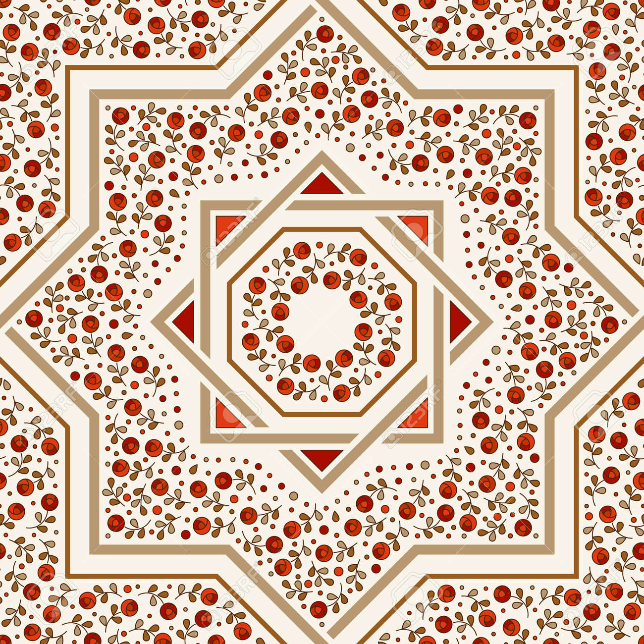 Patterned floor tile moroccan pattern design eight ray star patterned floor tile moroccan pattern design eight ray star seamless vector pattern dailygadgetfo Gallery