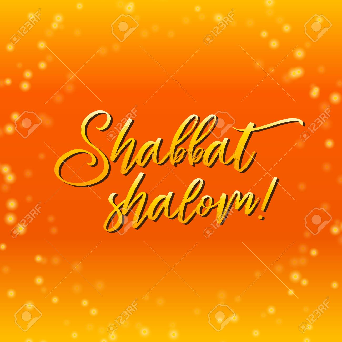 Shabbat shalom lettering greeting card vector illustration shabbat shalom lettering greeting card vector illustration hebrew words shabbat shalom and starry thecheapjerseys Image collections
