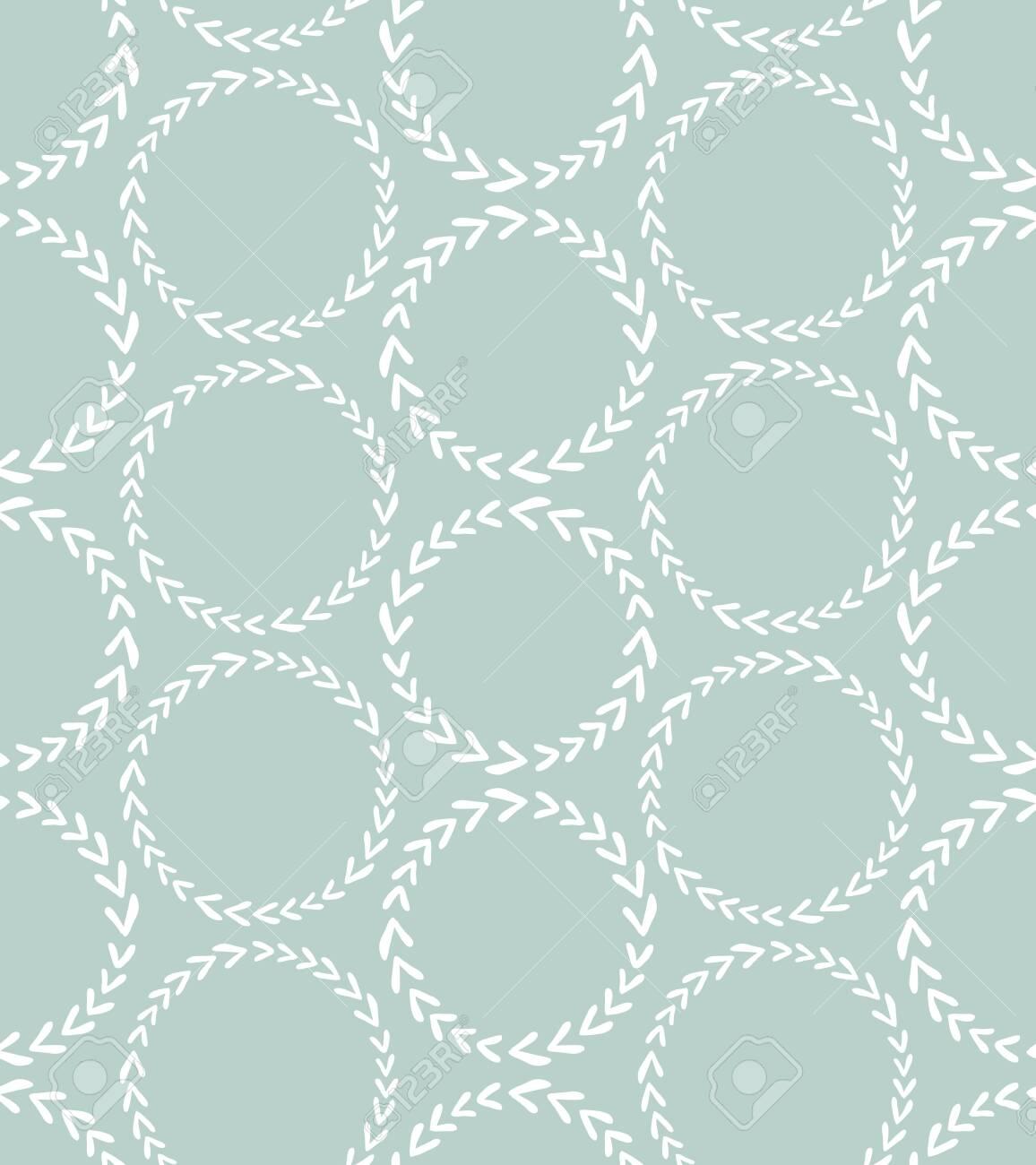 Scandinavian style seamless pattern - 141696277
