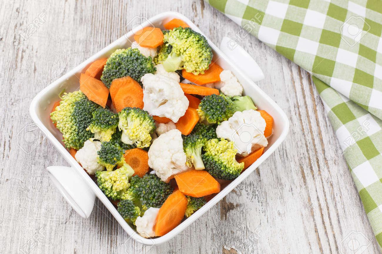 Dieta brocoli y zanahoria