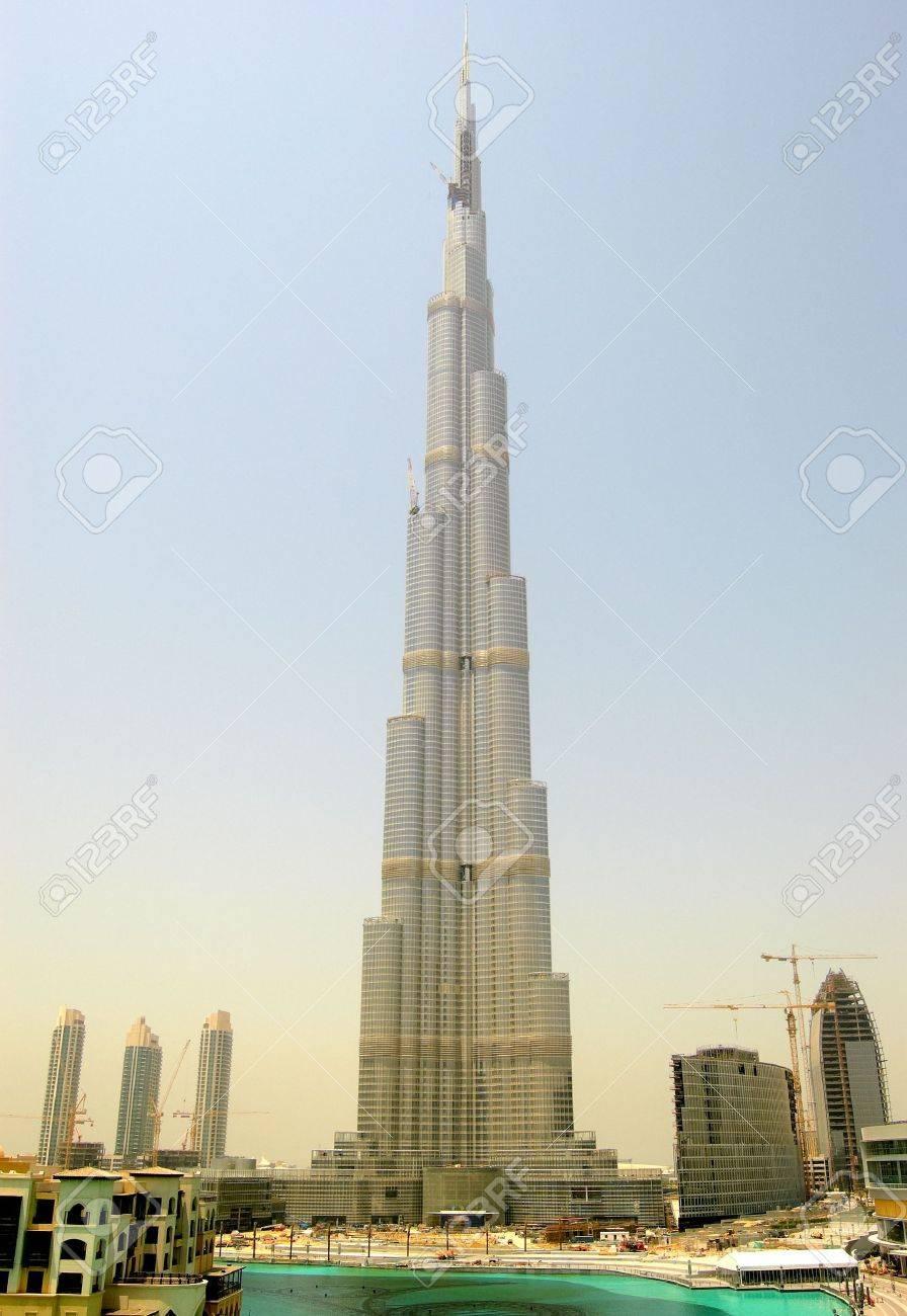 DUBAI, UAE - AUGUST 27: The Burj Khalifa (Burj Dubai) during