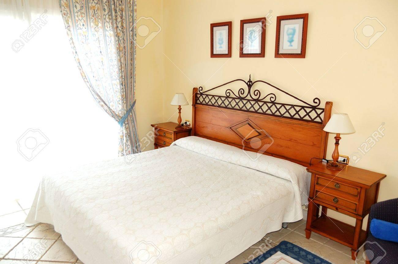 Apartment interior in the luxury hotel, Tenerife island, Spain Stock Photo - 9811122