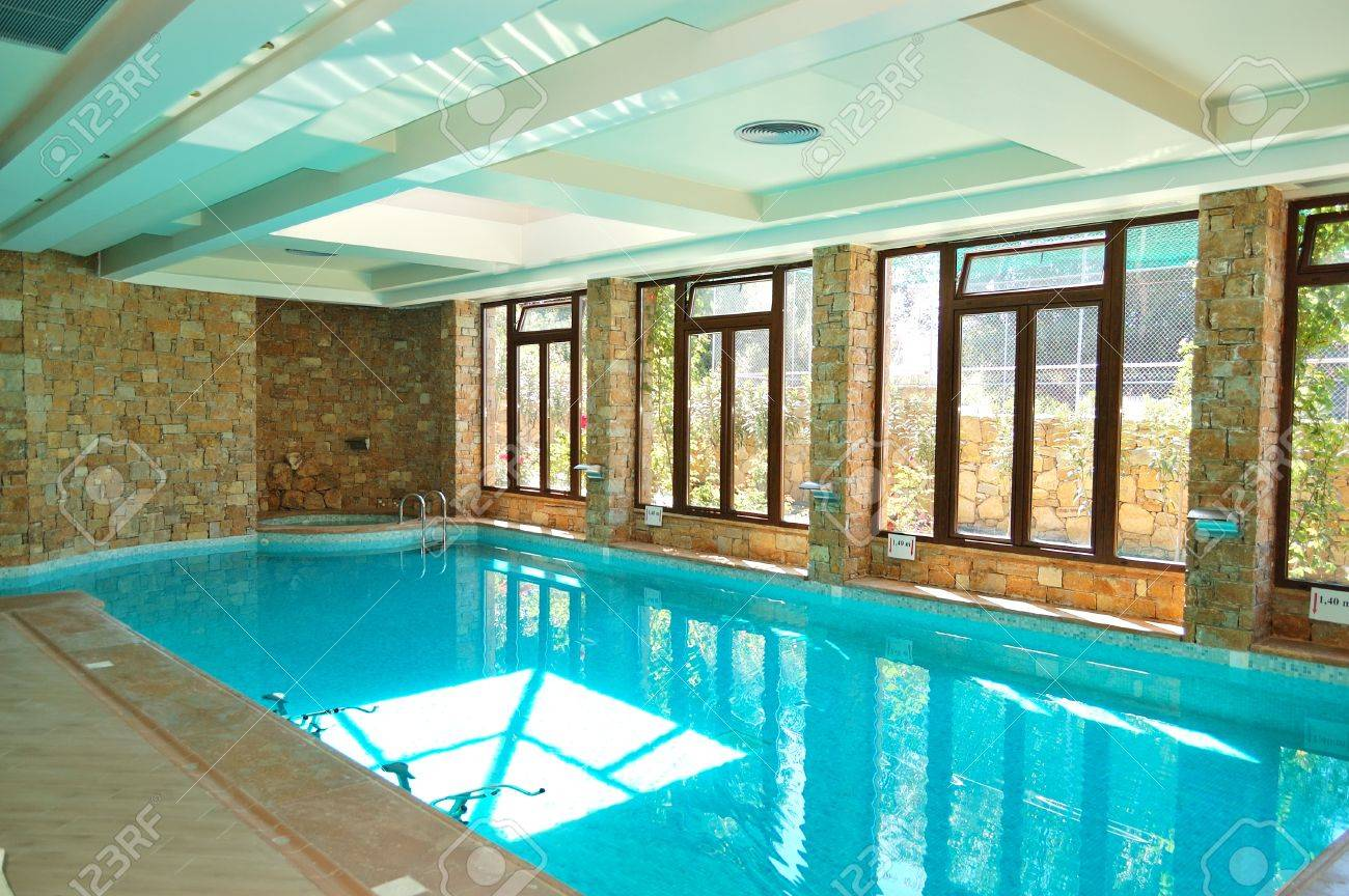The Swimming Pool With Jacuzzi In Spa At Modern Hotel Halkidiki Stock Photo Picture And Royalty Free Image Image 13796030