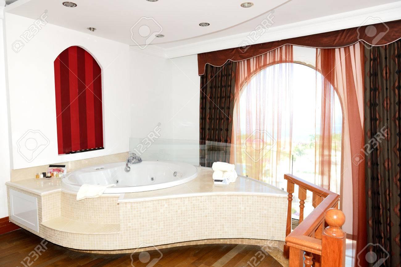 Appartement de luxe avec jacuzzi salle de bains, Bodrum, Turquie