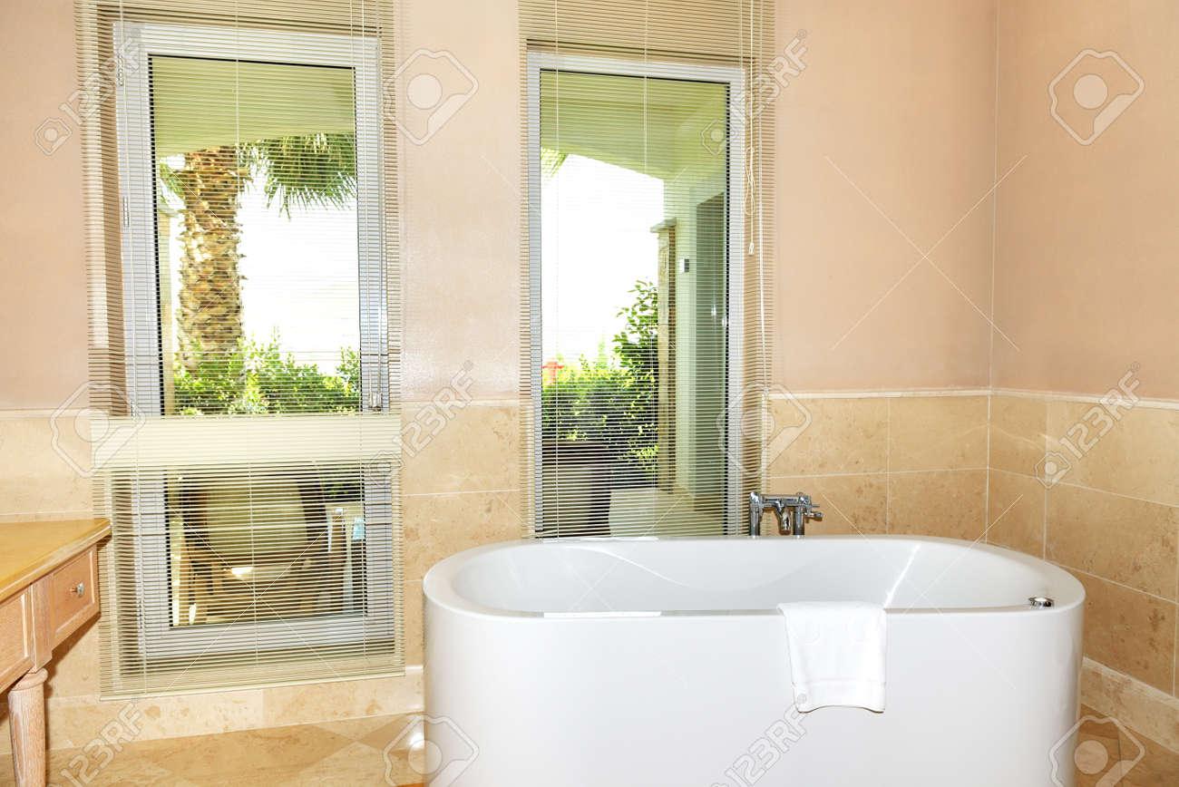 Salle De Bain Luxe Hotel ~ la salle de bain l h tel de luxe bodrum turquie banque d images
