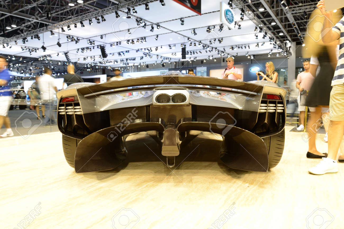 Dubai Uae November 18 The Aston Martin Valkyrie Hybrid Electric Stock Photo Picture And Royalty Free Image Image 105117072
