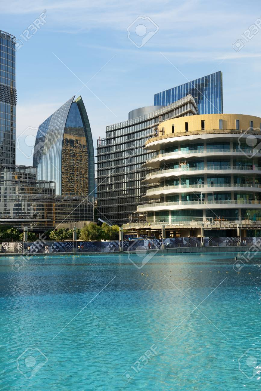 DUBAI, UAE - NOVEMBER 19: The Dubai Mall is the worlds largest