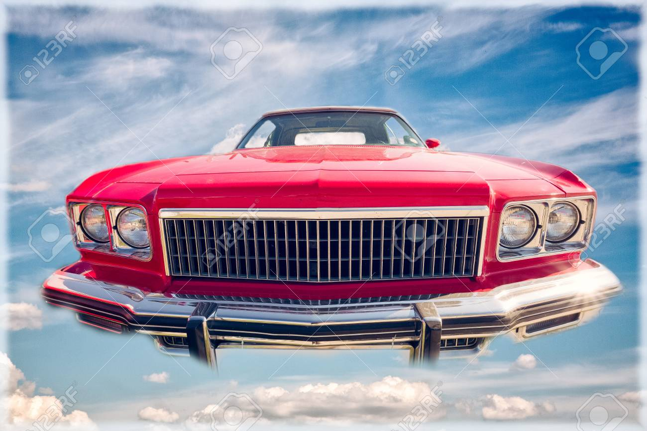 Old Retro Cars Old Models Chic Car Vintage Cars Stock Photo, Picture ...