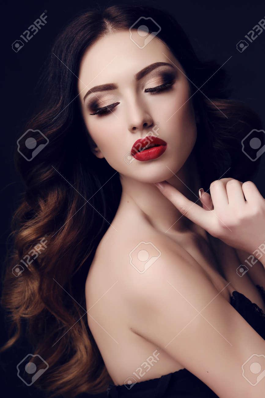Female portrait sexy woman