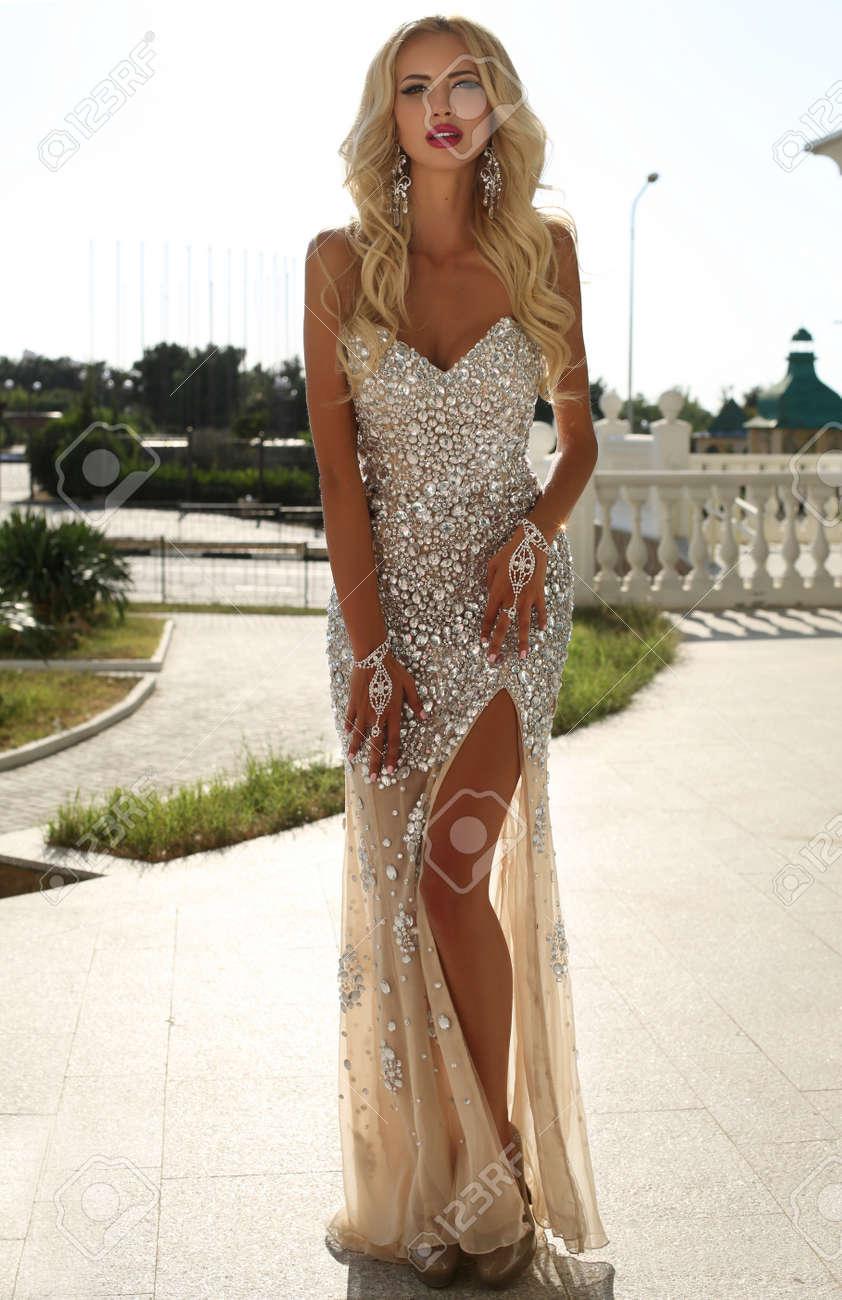 Elegante pailletten kleider