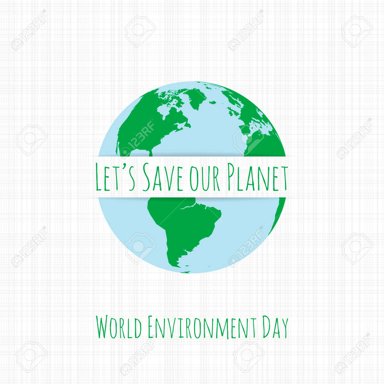 Plantilla De Banner De Ecología Del Día Mundial Del Medio Ambiente ...