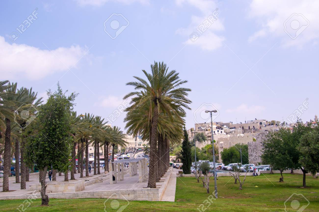 View of Jerusalem streets in Israel Stock Photo - 19746921