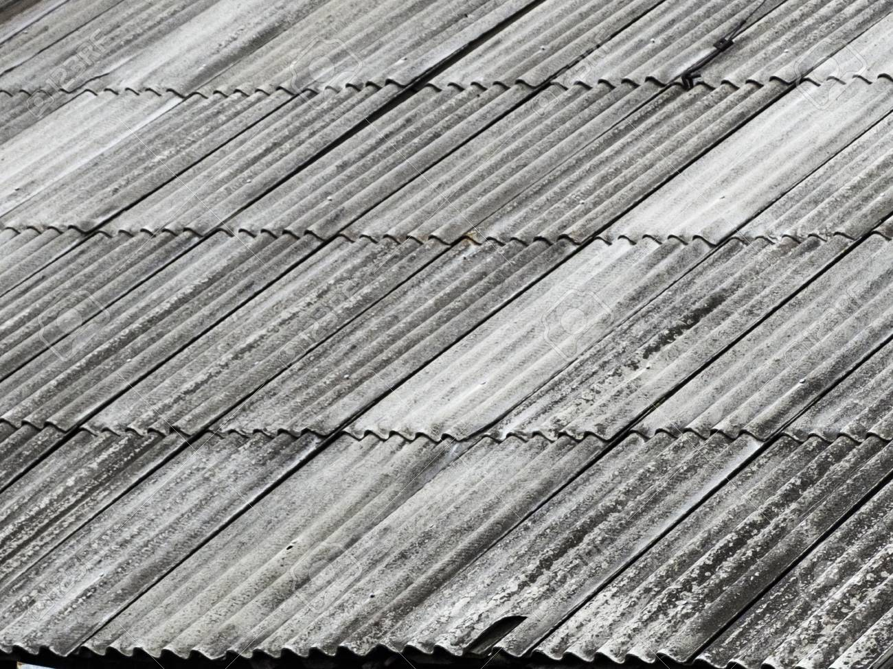 The Old Assbestos Roof Asbestos Cement Roofing Corrugated Sheets Stock Photo Picture And Royalty Free Image Image 102338216