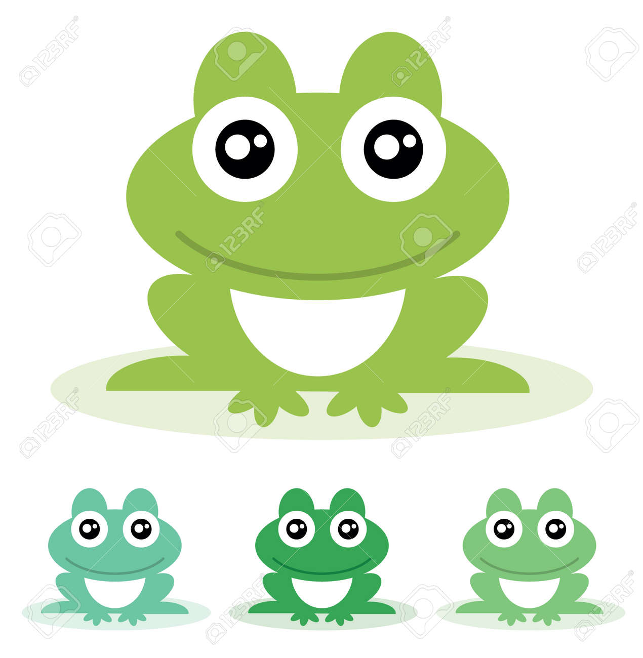frog vector illustration royalty free cliparts vectors and stock rh 123rf com Vector The Crocodile Turtle Vector