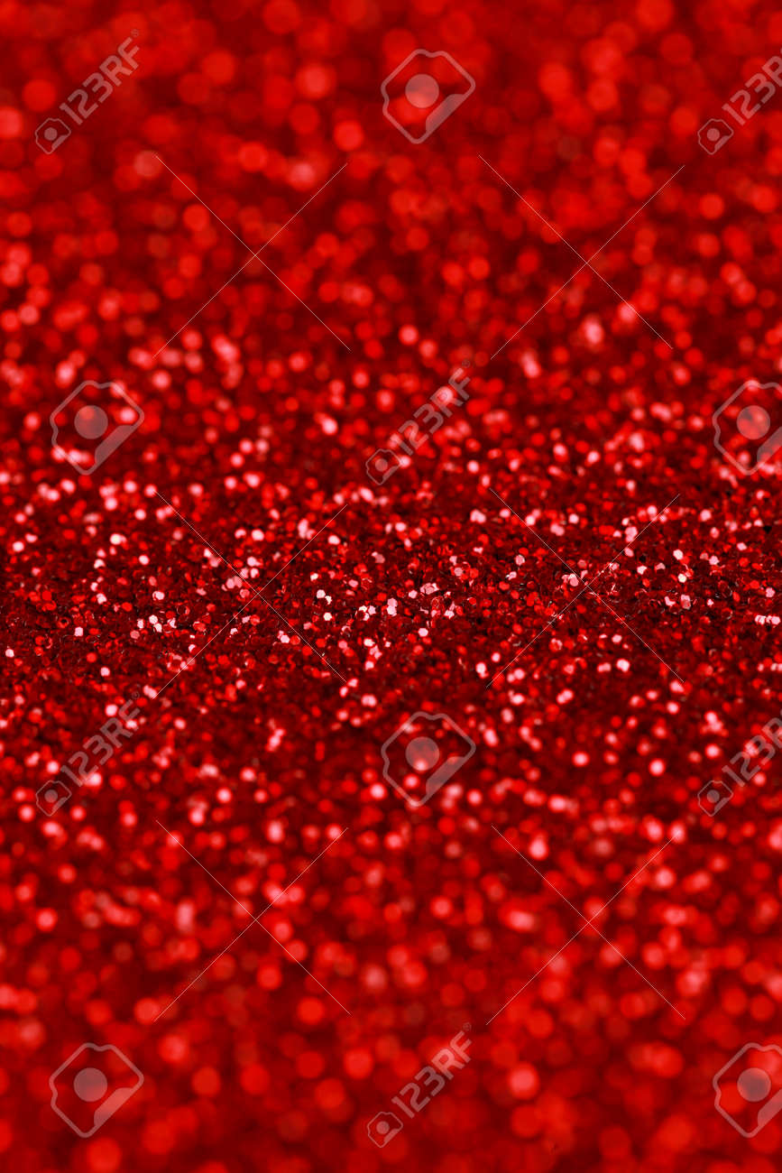 christmas new year valentines red glitter background holiday