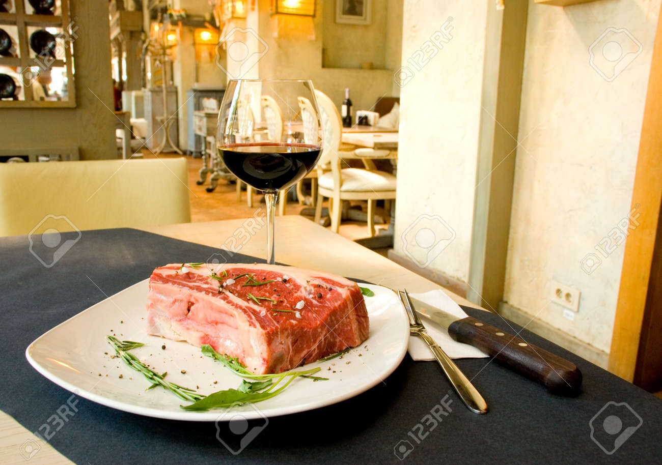 Best Cut Of Beef Fillet Steak Ready For Cooking At Five Star Stock Photo Picture And Royalty Free Image Image 4903764