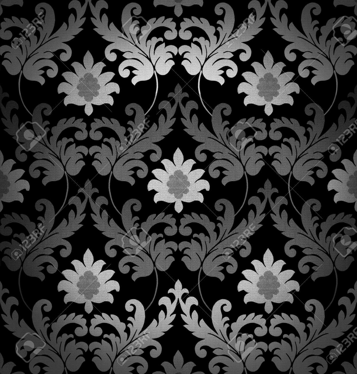Retro Black And White Background Stock Photo