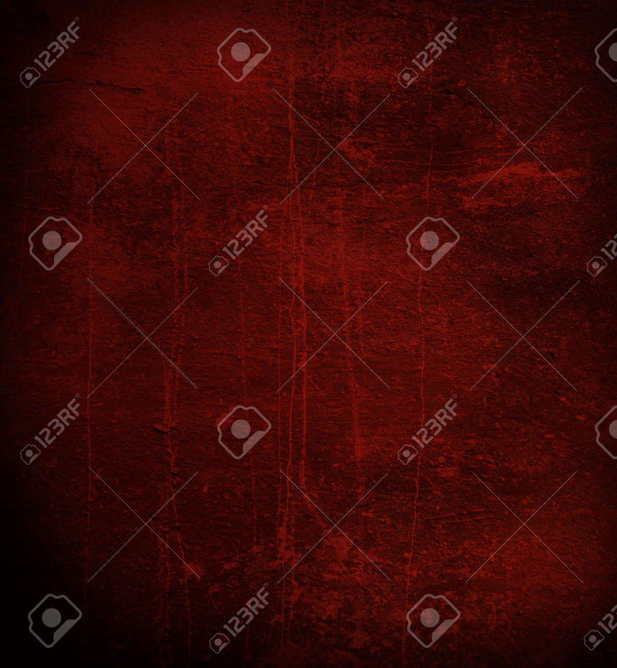 Scratched gloomy dark red wall Stock Photo - 5770318