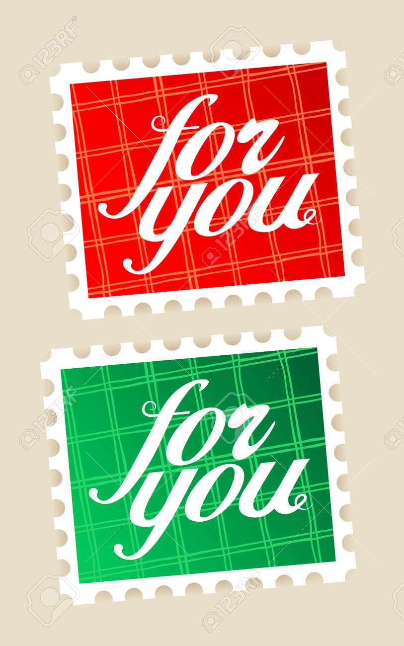 For you postage stamps set. Stock Vector - 8618964