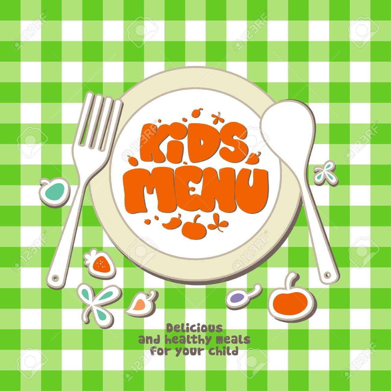 11011774-Kids-Menu-Card-Design ...