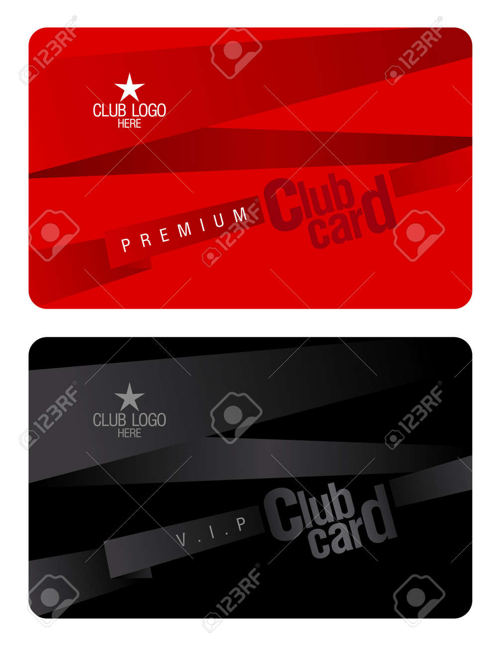 membership cards template