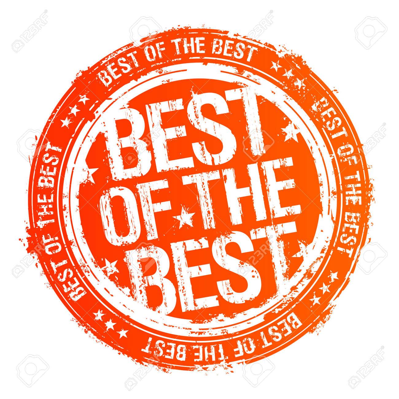 12230712 best of the best rubber stamp  stock vector winner