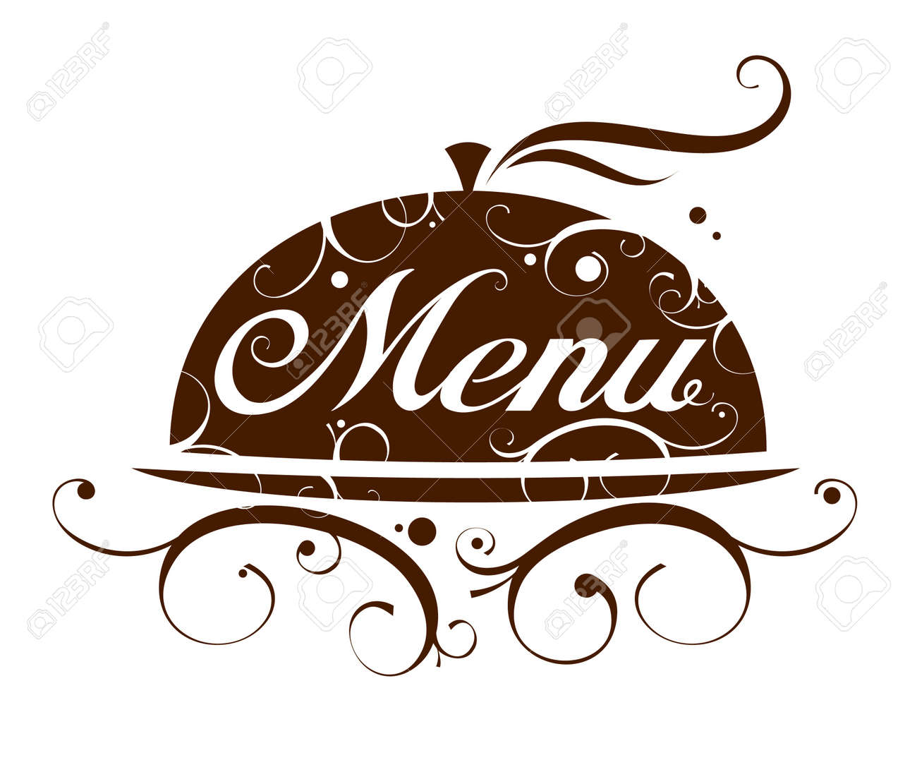 restaurant menu card design template royalty free cliparts vectors