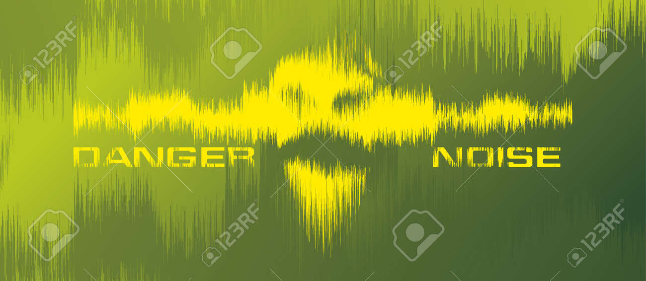 Danger noice background Stock Vector - 13716699
