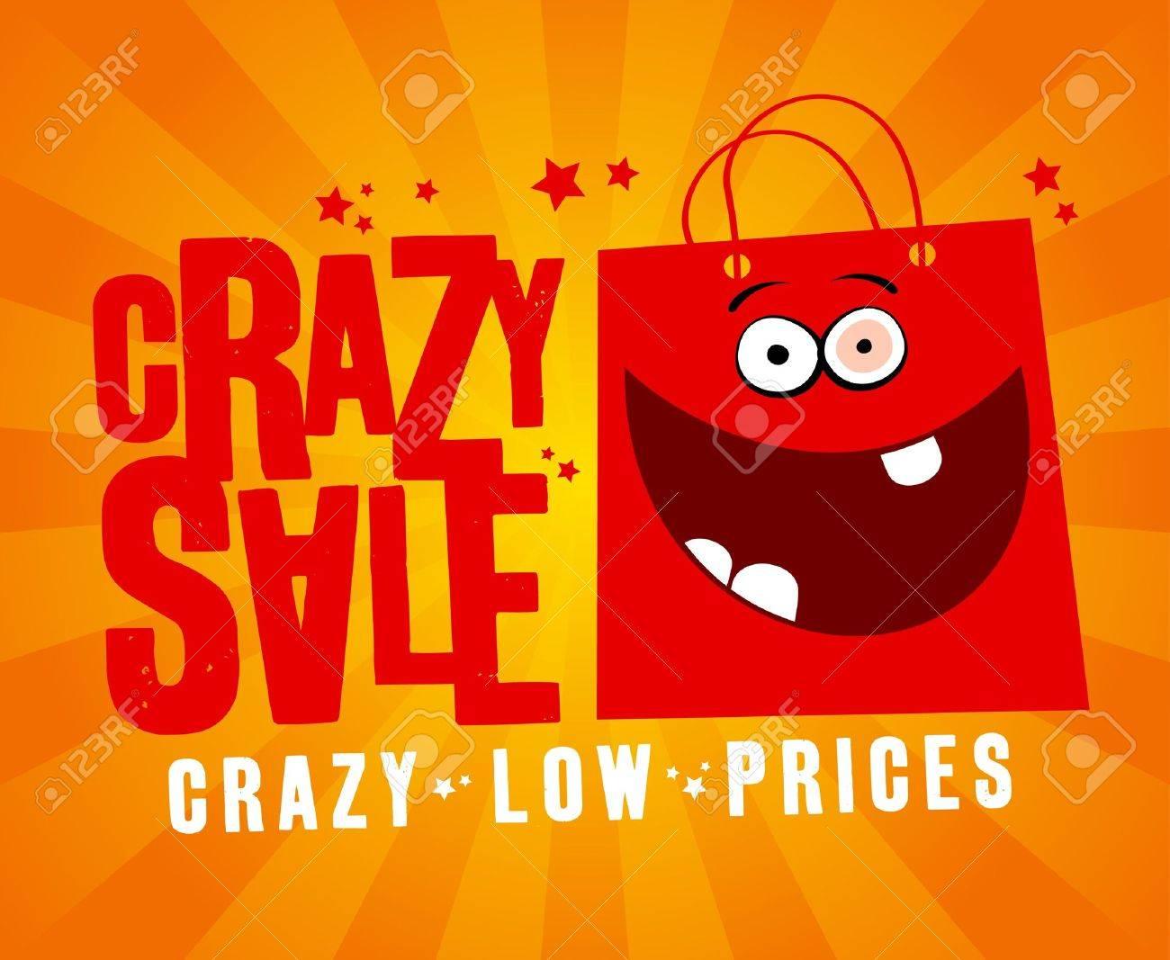 crazy design template fun red bag royalty crazy design template fun red bag stock vector 14051375