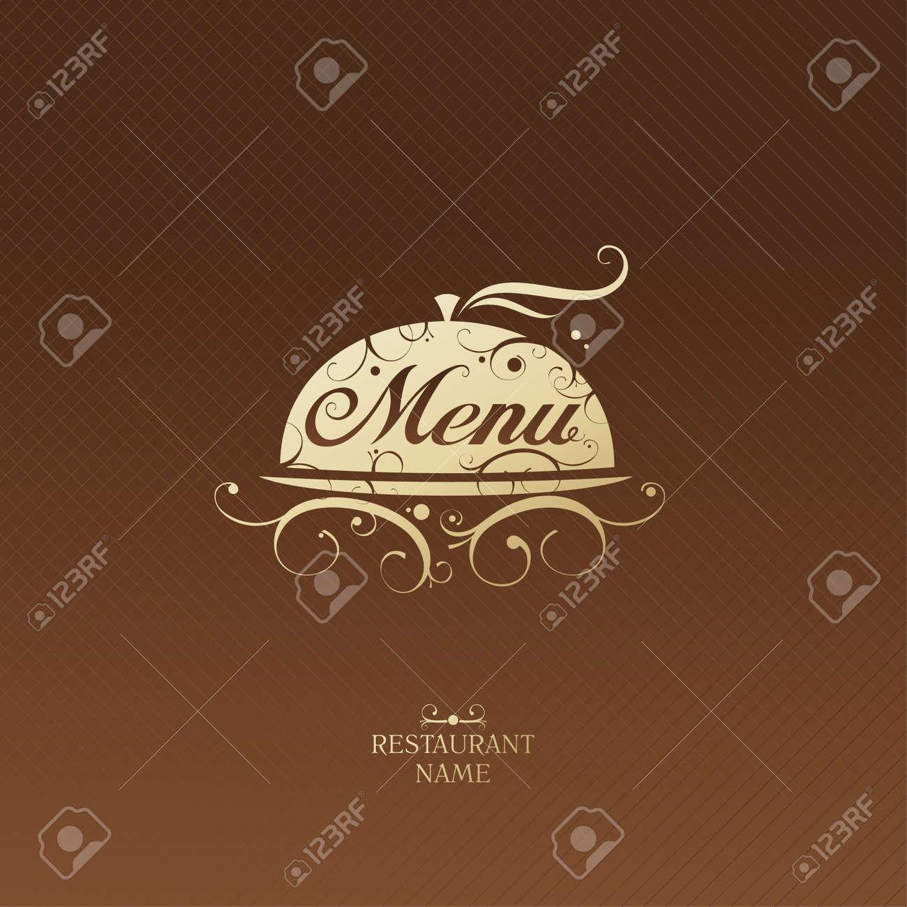 restaurant menu design blank