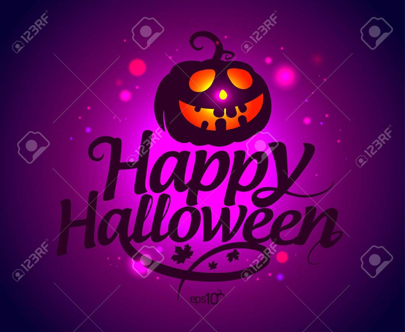 happy halloween card with pumpkin royalty free cliparts vectors