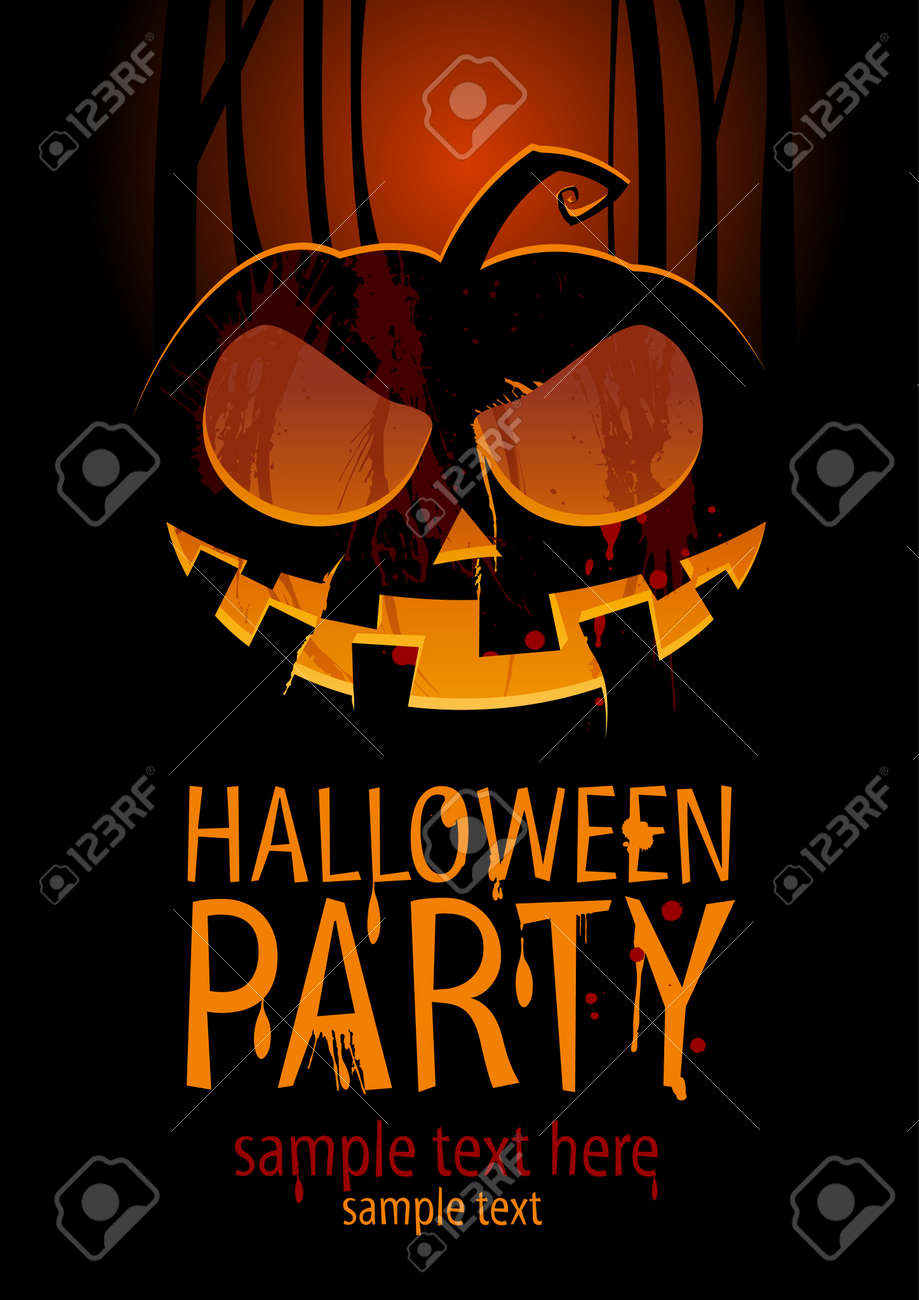 19,333 Halloween Text Stock Vector Illustration And Royalty Free ...