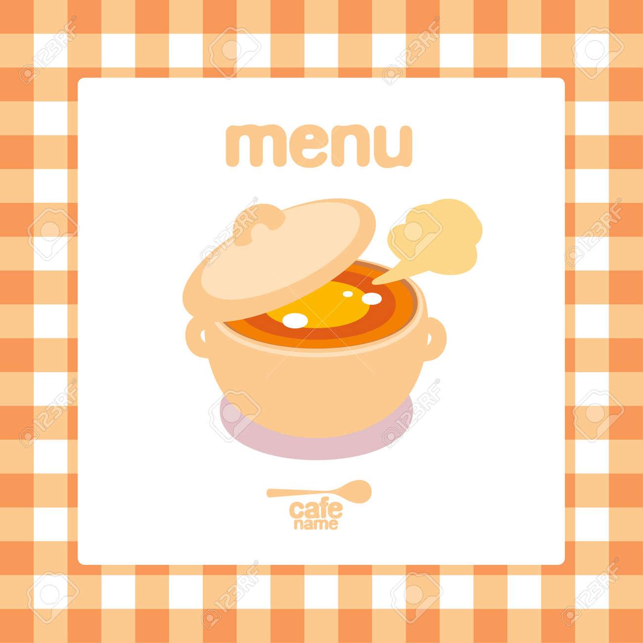 Home Cooking Menu Card Design template  Stock Vector   15713834Home Cooking Menu Card Design Template  Royalty Free Cliparts  . Home Design Card. Home Design Ideas
