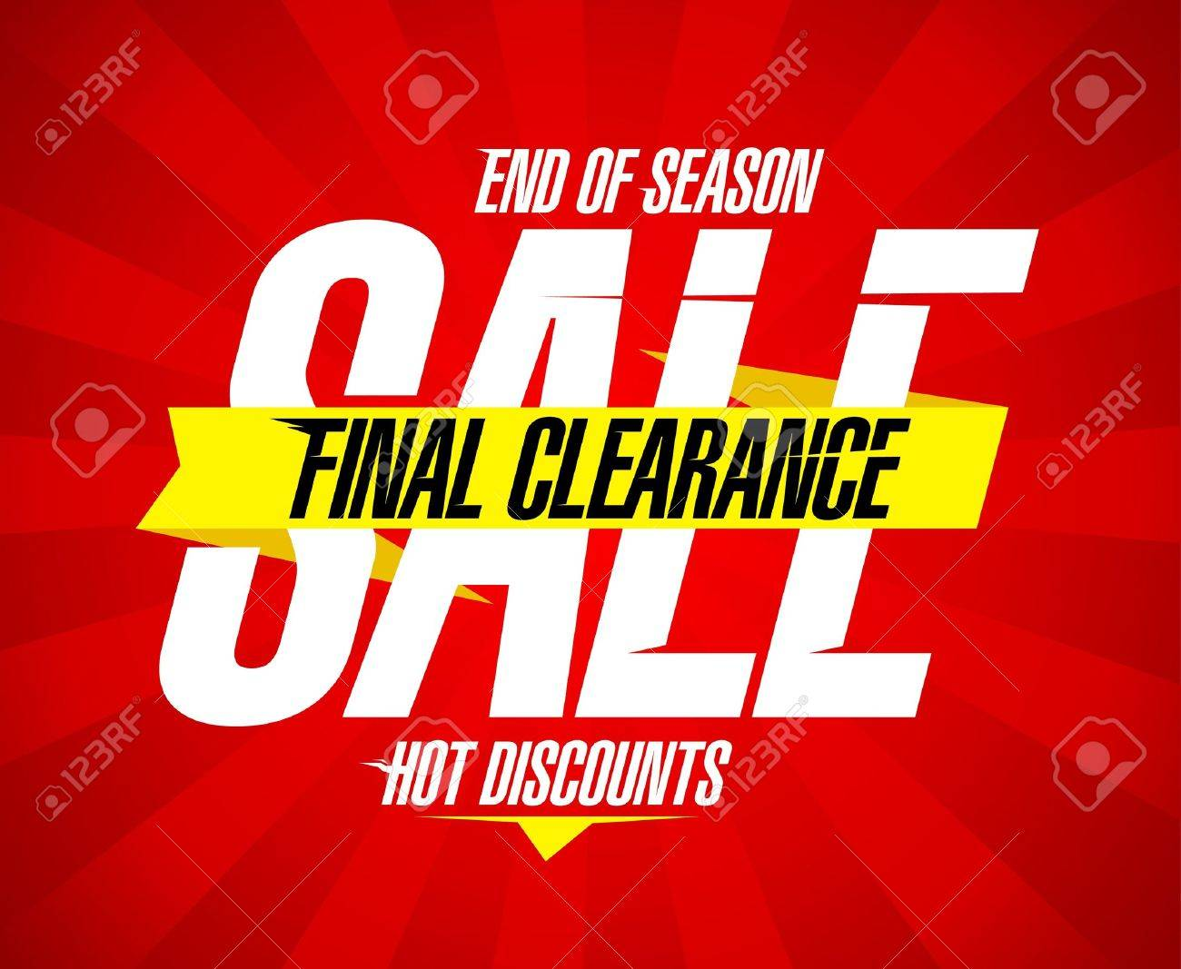final clearance design template royalty cliparts final clearance design template stock vector 21400812